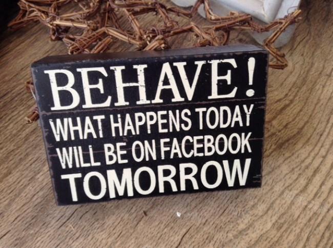 BEHAVE! Facebook Block